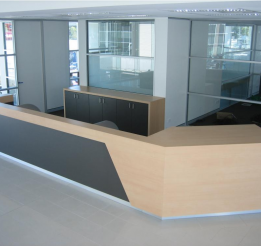 Laminated Reception Counter