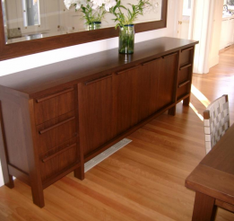 Polished Timber Sideboard