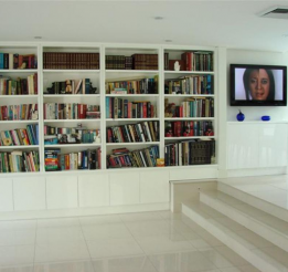 Polyurethane Book Case Shelving