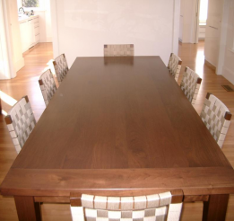 Soild Timber Walnut Dining Table