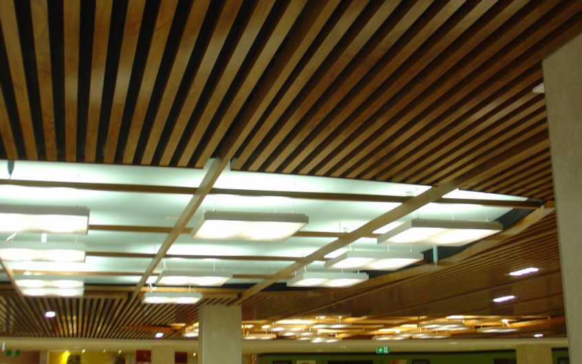Timber Ceiling Paneling
