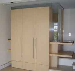 Veneer Robe With Shelving