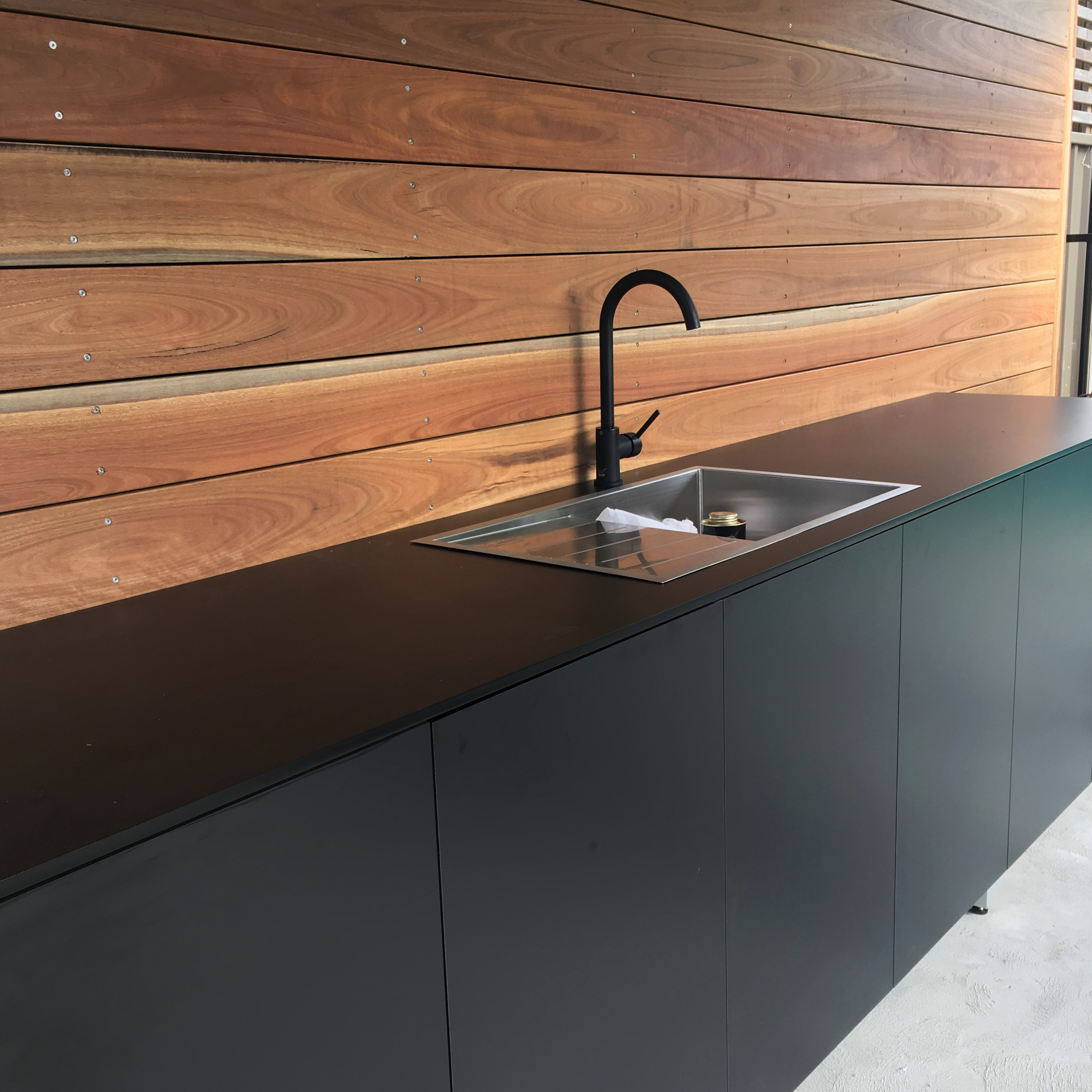 Kitchen archives tasker joinery for Outdoor furniture taren point
