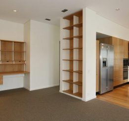 American Oak Study and Bookcase